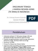 Pendayagunaan Tenaga Kesehatan Warga Negara Asing Tk-wna