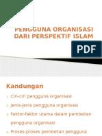 Topik 5 Pengguna Organisasi Dari Perspektif Islam