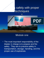 Blasting Safely With Proper Techniques (1)