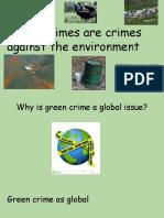 green crimes