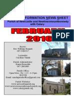 Newcastle Parish News Wicklow, Ireland Feb 2016