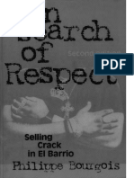 In Search of Respect-Selling Crack in El Barrio--Bourgois