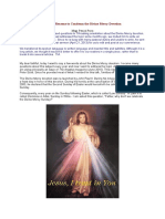 Church Reasons to Condemn the Divine Mercy Devotion
