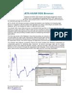 ASAM ODS Browser in μΕΤΑ post-processor