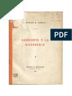 Sarmiento y La Masonería