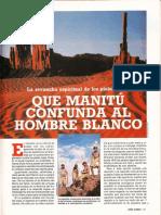 Que Manitu Confunda Al Hombre Blanco R-007 Nº009 - Año Cero - Vicufo2