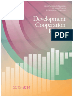 Development Cooperation Report 2012-2014