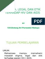 Masalah Stigma, Legal Dan Etik Terhadap Hiv