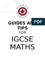 IGCSE MATHS Booklet 2015 1 Numbers