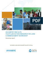 Youth-Led Action Research on Land Commencement Workshop
