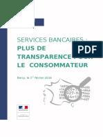624 - DP Lancement Du Comparateur Des Tarifs Bancaires