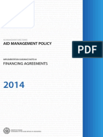 Guidance Note 4 - Financing Agreements