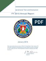 2015 Dote Annual Report