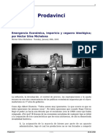 Emergencia Economica Impericia y Ceguera Ideologica Por Hector Silva Michelena