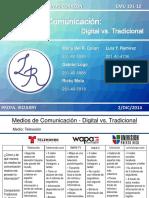 Medios de Comunicación Digital vs Tradicional