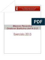 Inpgi Ago Bilancio Preventivo 2015-1