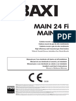 BAXI Main 2 - Manual