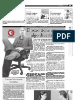 """Entrevista en """"El periódico de los colombianos"""""""