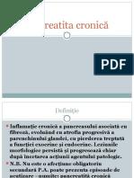Pancreatita Cronica