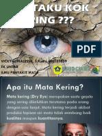 Dry Eyes Syndrome (Mata Kering)