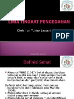 Five Level of Prevention