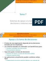 Informática de Gestión - Tema 7