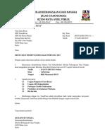Surat Panggilan Mesyuarat Merentas Desa