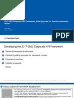 2017-2022 Corporate KPI Framework