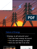 Energy Forms and Changes