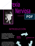 Anorexia Nerviosa (Power Point)