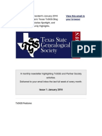 TEJANOS2010 - 2016-01-28 VmFw TxSGS ENews for January 2016