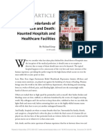 Haunted Hospitals Article