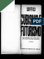 Ardengo Soffici_Cubismo e Futurismo