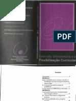 Extensão Universitária - Extensão e Flexibilização Curricular