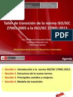 ISO 27001 2005 A 2013