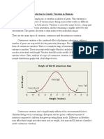 Introduction to Genetic Variation in Human