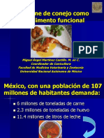 Carne Conejo PDF Unam