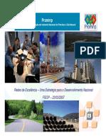 Redes de Excelencia Uma Estrategia para o Desenvolvimento