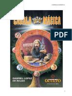 Gabriel Lopez de Rojas - Cabala Magica