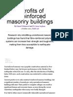 Retrofits of Unreinforced Masonry Buildings _ BRANZ Build