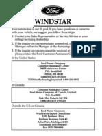 98 Windstar Manual