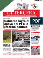 Diario La Tercera 01.02.2016