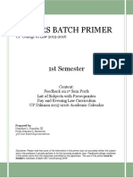 Juniors Batch Primer
