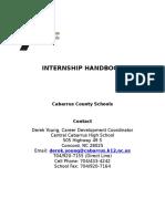 internship packet