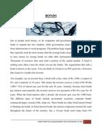 bond portfolio with referance to sbi