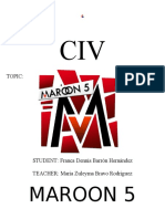 Maroon 5 Documento