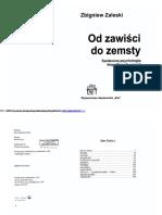 Zaleski Zbigniew _ Od Zawisci Do Zemsty