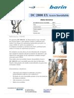 Nuevo Aspirador DC2800EX en Acero Inoxidable Para Zonas Atex22