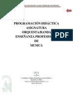 Programación Orquesta