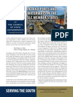 Inland Ports and Waterways in the SLC member States
